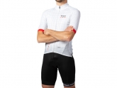 Bouticycle Pack Maillot + Cuissard Climb 111 Blanc/Rouge