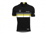 Bouticycle Maillot manches courtes Legendary Noir/Jaune