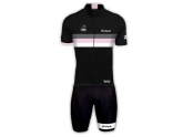 Bouticycle Pack Maillot + Cuissard Legendary noir-rose femme