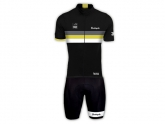 Bouticycle Pack Maillot + Cuissard Legendary noir-jaune