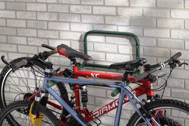 Mottez support velo mural rabattable - Support velo garage ...